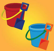 Bucket And Spade Vector