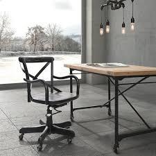 bureau stylé bureau maison de style industriel et moderne