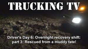 100 Overnight Trucking Shared TV Classic Overnight Recovery Shift Part 3 YouTube