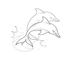 Download Dolphin Coloring Pages 6 Print