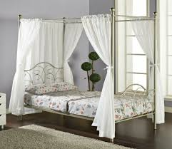 Twin Canopy Bed Curtains by Gentle Sleep With The Best Canopy Bed Curtain U2013 Fresh Design Pedia