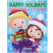 Christmas Jumbo Coloring Activity Book 160 Pages