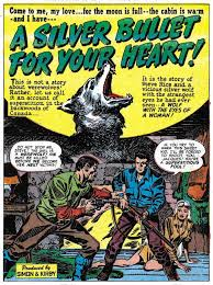 Black Magic 3 February 1951 A Silver Bullet For Your Heart Art By Jack Kirby