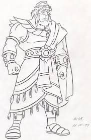 Amazing King Saul Coloring Page 51 In Free Colouring Pages With