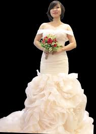 3d printed lady in wedding dress by khoihq pinshape