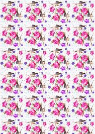 Free Printable Garden Fairy Scrapbooking Paper