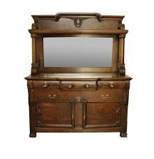 Tiger Oak Dresser Chest by Antique Victorian Tiger Oak Dresser With Mirror Ebth