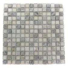 splashback tile tectonic squares green quartz slate and white 12