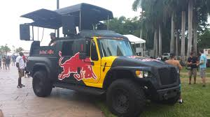 Awesome Redbull DJ Truck At Flugtag Miami Today! : Redbull