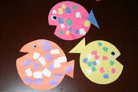 This Weeks Construction Paper Fish Craft