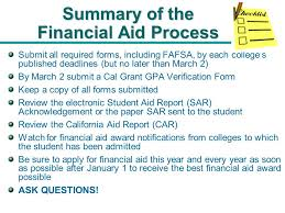 applying for financial aid applying for financial aid mt san