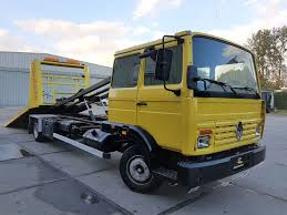 RENAULT Midliner S 160 Turbo Hydraulic Platform + Winch SleeperCab ...