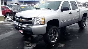 2010 Chevy Silverado Hybrid Lifted Video Walk-around At Appl - YouTube