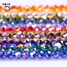 4mm Czech Faceted Ab Round Ball Glass Beads For Jewelry Making Handicrafts Women Diy Perles Loose