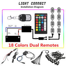 8Pcs RGB LED Rock Light Wireless Dual Remotes Control Under Body Car ... Add On Remote Start For Kit 072013 Acura Mdx Plug And Play Uses Szjjx Rc Cars Rock Offroad Racing Vehicle Crawler Truck Top 10 Wireless Digital Remotes From Last Century Radio World Custom Vw Power Door Lock With Autoloc Autvwck Muscle Replacement Car Keys For 2014 Dodge Ram Pickup Nissan Pathfinder Carchet Universal Winch Control 12v 50ft 2 2018 Honda Civic Smart Key Fob Keyless Entry 72147tbaa01 Kr5v2x 2016 Altima Key Fob Remote Starter Aftermarket Case Pad 15732803 15042968 Gm Yukon Blazer 2015 Murano 285e35aa1c Past Current Wgns Vehicles Used In Live Remotes Murfreesboro