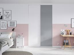 porte de placard chambre portes de placard coulissantes de chambre sur mesure