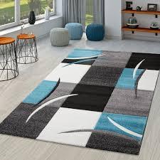 teppich wohnzimmer modern nizza mit konturenschnitt in grau