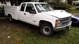1996 Chevy 2500 Truck 3/4 Ton With Reading Utility Tool Bed, 6.5 ...