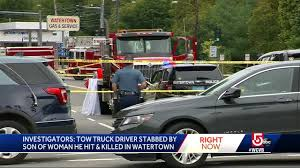 100 Tow Truck Driver Requirements Truck Driver Stabbed By Son Of Woman He Hit And Killed