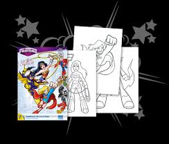 DC Super Friends Drawings Digitally DCSF Coloring Pages