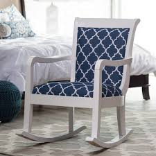 100 Navy Blue Rocking Chair Furniture Antique Interior Design With Upholstered