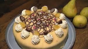 mohn birnen torte das rezept aus essen trinken für