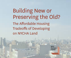 New Report Examines Tradeoffs Between Leasing NYCHA Land to