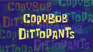 That Sinking Feeling Spongebob Transcript by Copybob Dittopants Transcript Encyclopedia Spongebobia