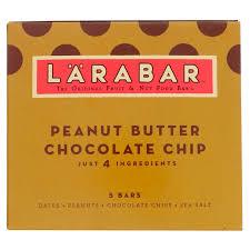 Larabar Peanut Butter Chocolate Chip 5 Bars 16 Oz 45 G