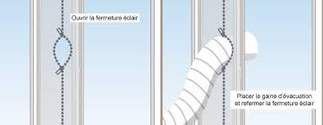 kit evacuation climatiseur mobile calfeutrer une fenêtre pour climatiseur ooreka
