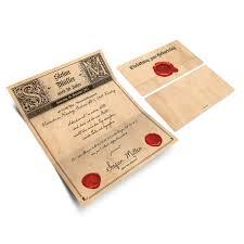 Cumpleaños Tarjetas De Invitación Sello Carta Vintage