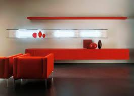 wandregale rot für modernes wohnzimmer design und