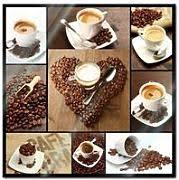glasbild kaffee in vielen designs kaufen lionshome