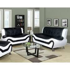 cream leather sofa set wayfair