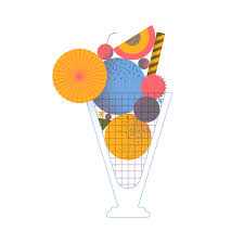 Personal illustration about my favourite dessert of the summer Sundae