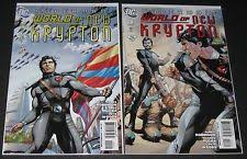 Item 2 Superman World Of New Krypton 3 2009 2010 DC 1st Print Robinson Rucka