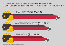 Who spent the most on auto insurance