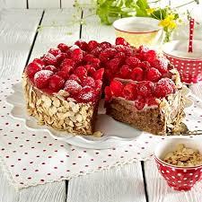 himbeer marzipan torte