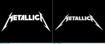 Metallica Logo Before And After