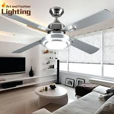Quiet Ceiling Fans With Lights Super Fan Large Inches Modern Lamp