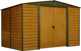 Small Generator Shed Plans by Amazon Com Arrow Wr108 Woodridge Eg Steel Storage Shed 10 By 8