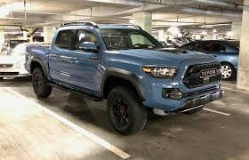 Saw This Tacoma TRD Pro The Other Day In An Interesting Color [OC ... New 2018 Toyota Tacoma Trd Off Road Double Cab 5 Bed V6 4x4 2017 Pro Autoguidecom Truck Of The Year Pickup Walkaround 2016 Toyota Elevates Off Road Exploration With Pro Pickup Trucks Chicago Auto Show 2019 Tundra And 4runner Reviews Rating Motor Trend Get Extreme Get Dirty Out There The Series For Sale Near Prince William Va Used Toyota Tacoma Double Cab Off At Sullivan Company 4wd Limited Crewmax Offroad Review An Apocalypseproof