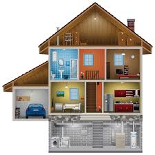 Simple Layout Of A Villa Placement by Placement Of Smoke Detectors Best Smoke Alarms Kidde Home Safety