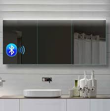 led spiegelschrank 162x70 cm bluetooth kaltweiss