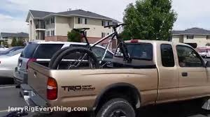 Mount Your Bike On A Truck Box - EASY - Mountian OR Road Bike - YouTube
