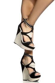 black faux suede ethnic wedges cicihot wedges shoes store wedge