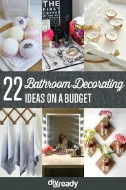 DIY Bathroom Decorating Ideas