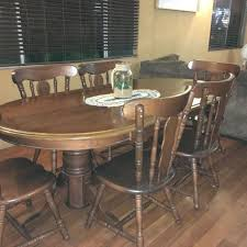 Dining Table Solid Timber Oval 2100 X 1100 Few Scratches