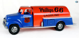 Awesome Restored Vintage 1956 Tonka Phillips 66 Gasoline Truck ...