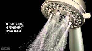 h2okinetic hand showers with multiple settings by delta faucet